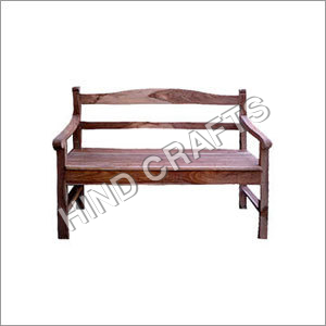 Wooden Arm Bench