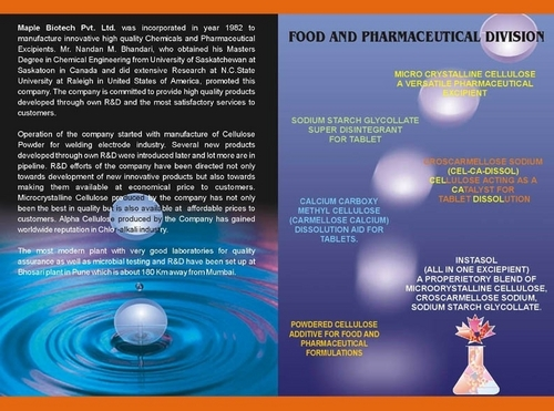 Food Pharmaceutical Division
