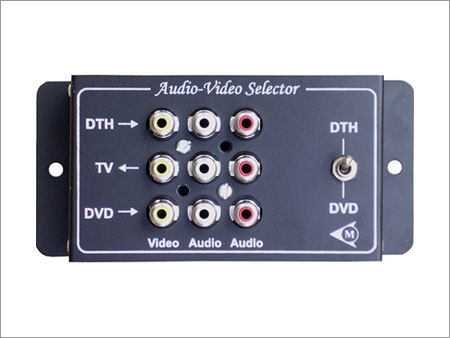 Audio Video Selector
