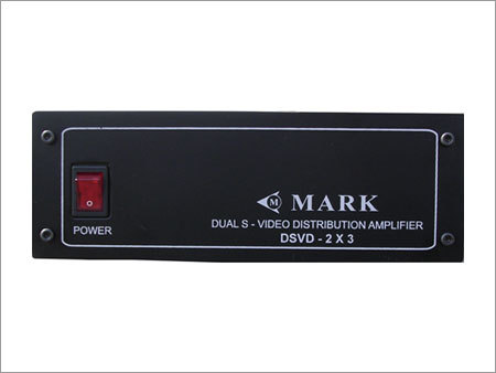 Duals Video Distribution Amplifier