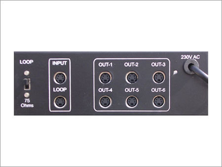 S Video Distribution Amplifiers