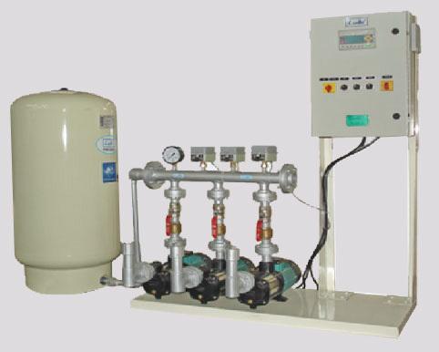 Hydro pneumatic Pressure Booster System