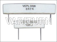 Encased Radial Lead Wire Wound Resistor