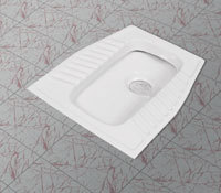 Squat Toilet Pan