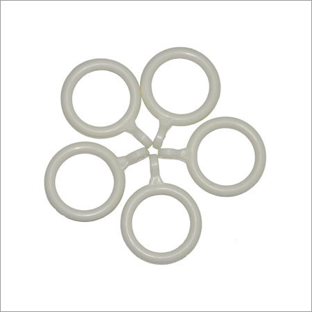 Plastic Molded Curtain Rod Rings