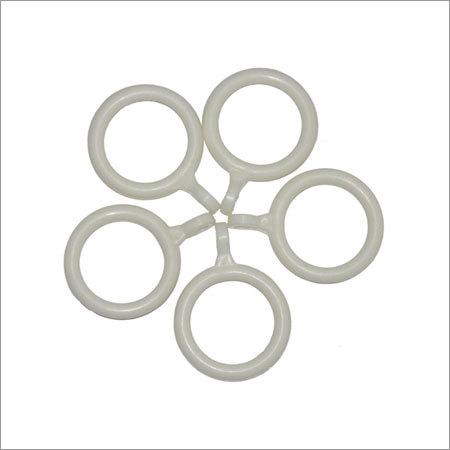 Plastic Molded Curtain Rod Rings