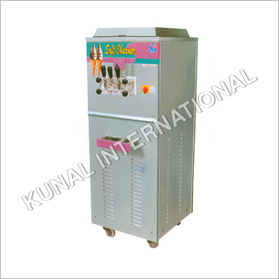 Double Flavor Ice Cream Machine