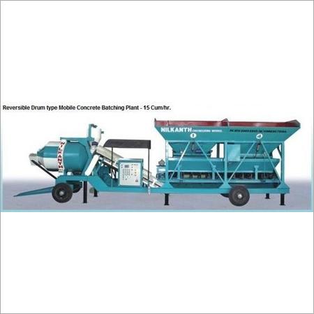 Mobile Concrete Batching Machine