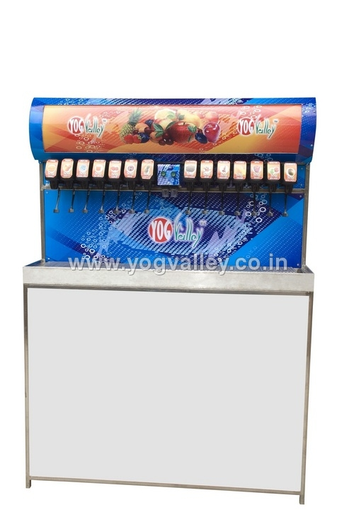 Multi Flavoured Soda Vending Machine
