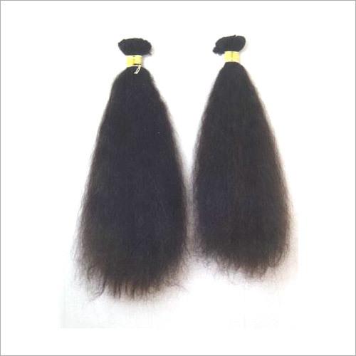 Single Drawn Straight Hair