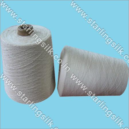 ERI silk yarn 40/2 Nm fancy