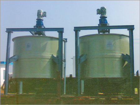 FRP Stirrer Vessel