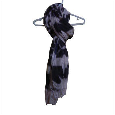 Cotton Silk Shibori Scarf