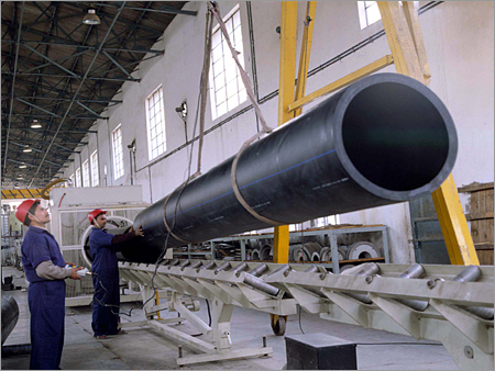 Corrosion Resistant HDPE Pipe