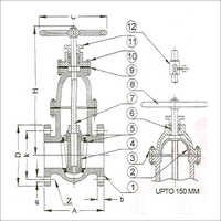 Sluice Valve Spindle