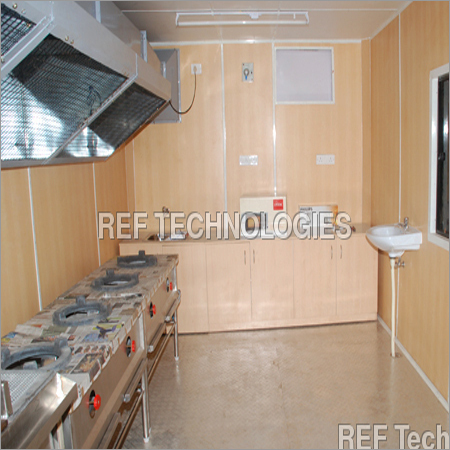 Readymade Kitchen Cabin