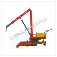 Rotated Floor Crane