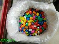Colored pebble