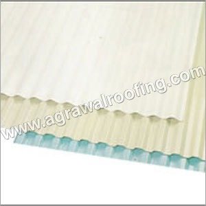 PVC Corrugated Sheets