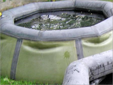 Onion Shape Flexible Water Storage Tank