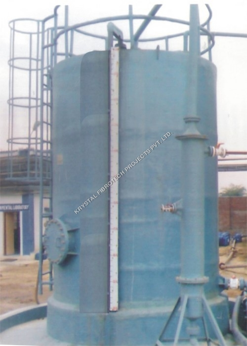 Vertical PP Acid Storage Tank