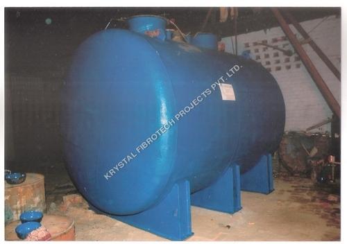 Horizontal PP HCL Storage Tank