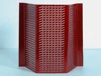 Perforated Steel Security Screen