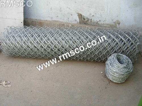 Chain Link Barbed Wire