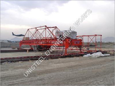 Airport Apron Concrete Paver Machine