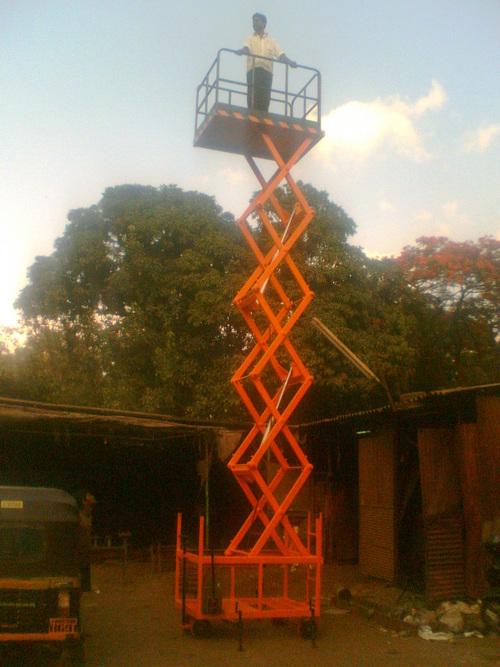 Hydraulic Scissor Lifting Platform