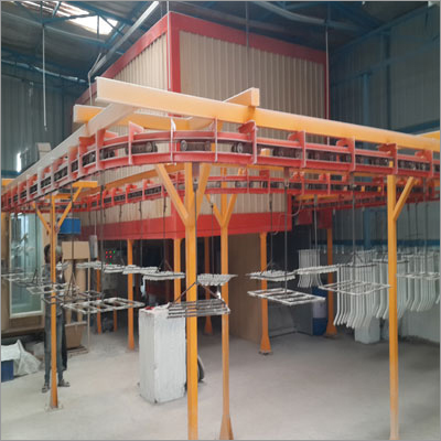 Automatic Powder Coating Plant
