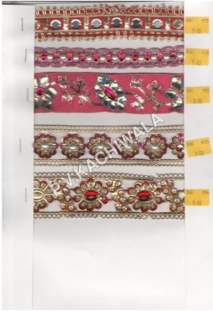 Embroidered Jacquard Laces