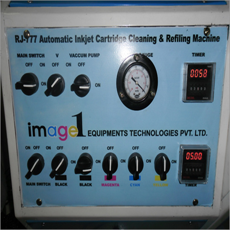 Inkjet Cartridge Refilling Of Cleaning Machine