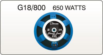 Pa Loud Speakers (G 18/800 650 Watts)
