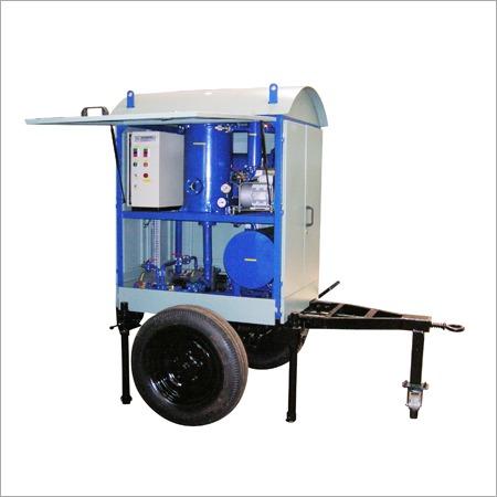 Blue Transformer Oil Filtration Machine