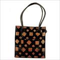 Printed Leather Ladies Bag