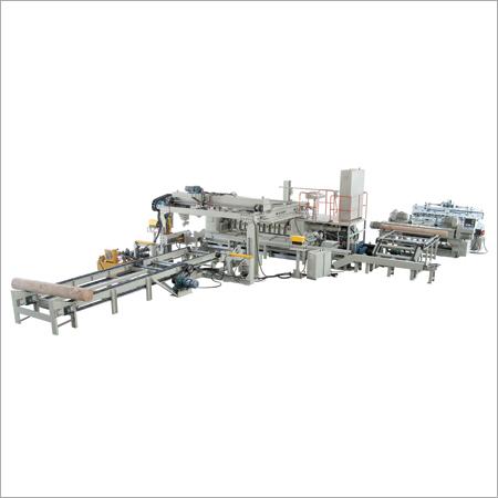 Log Peeling Veneer Production Line