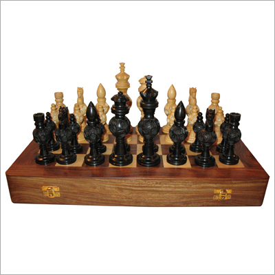 Fancy Wooden Chess