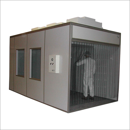 Soft Wall Modular Mobile Clean Room