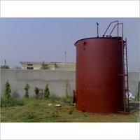 Vertical Fuel Oil Storage Tanks