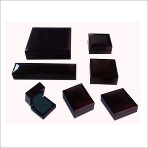 Glass Wooden Jewellery Boxes