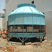 Round Bottle Type Cooling Tower