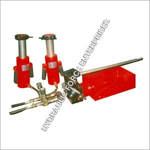 Hydraulic Gang Type Jack (Hand Operated)