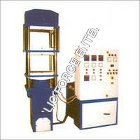 Hydraulic Rubber Moulding Press PLC Controlled