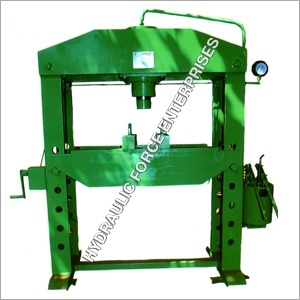 Hydraulic Work Shop Press (Hand Operated)
