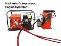 Hydraulic Compressor Machine Engine Operated