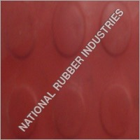 Round Button Rubber Sheet