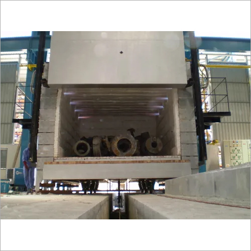 High Temperature Gas Fired Furnace