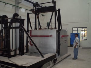 Electric Auto Quenching Fork Furnace