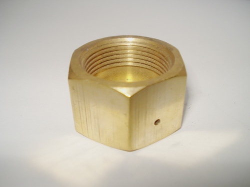 Brass Gas Hex Nuts